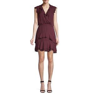 Parker Tangia Silk Ruffle Blouson Dress
